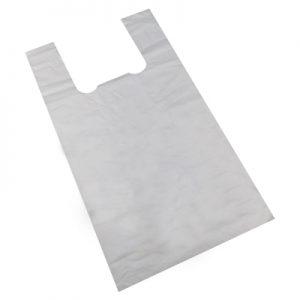 Bolsa camiseta compostable
